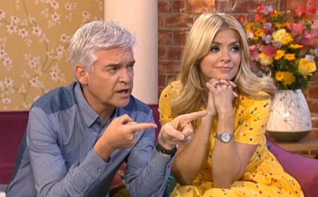 Rising star: Holly has become well-known for her morning presenting alongside Phillip Schofield on This Morning