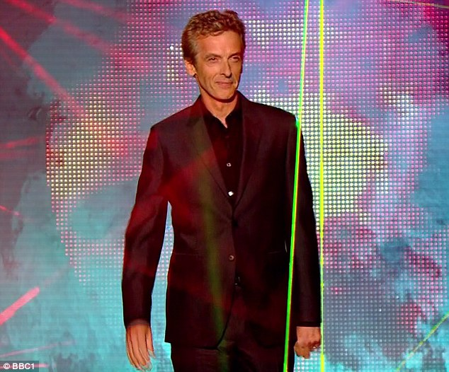 No surprises: Veteran actor Capaldi, who is best known as politico Malcom Tucker from satire The Thick Of It, was the favourite to be unveiled as the new Doctor