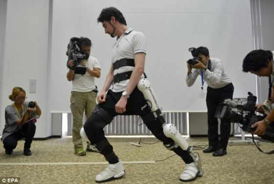A robotic exoskeleton used to help disabled people walk has been approved for sale in Germany. This means the Japanese Robot Suit HAL could soon be sold in other parts of Europe including the UK.