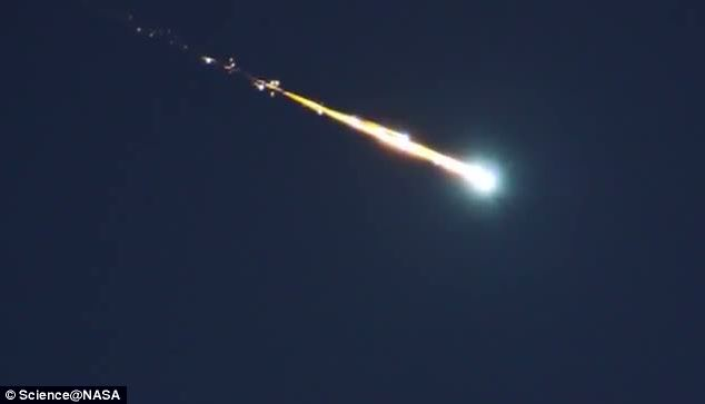 The Perseid fireballs have been lighting up the sky in Alabama, Tennessee and Mississippi