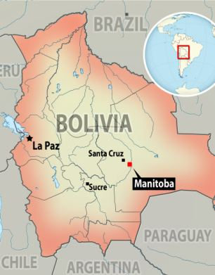 The Manitoba Colony in eastern Bolivia is home to about 3,000 people