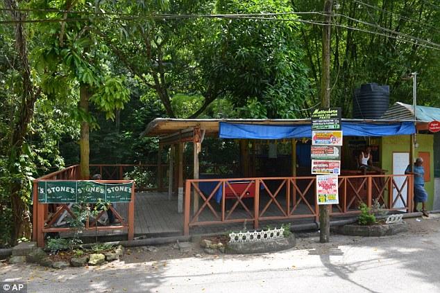 Dangerous party: The riverside bar where Jamaican teen Dwayne Jones was targeted for being transgender
