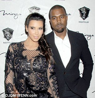 Rich: Kanye West and Kim Kardashian have a combined net worth of $140 million