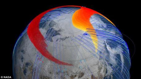 Los datos de satélite de la Nasa