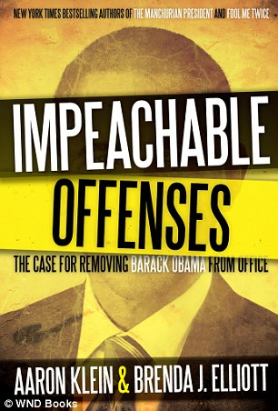 'Impeachable Offenses' outlines a case for removing the president from office, and will hit bookstores on August 27