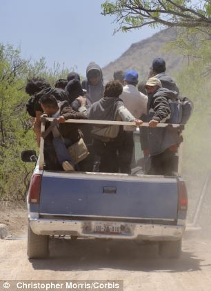 Make a run for the border: Thousands of Mexican immigrants illegally cross the U.S. border every day; though a disproportionate number of them are arrested for committing crimes, the Obama administration has released thousands from custody