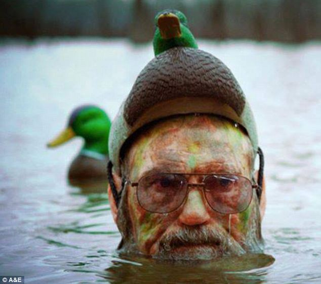 Uncle Si's duck hat is, unfortunately, not available at the Duck Commander web store