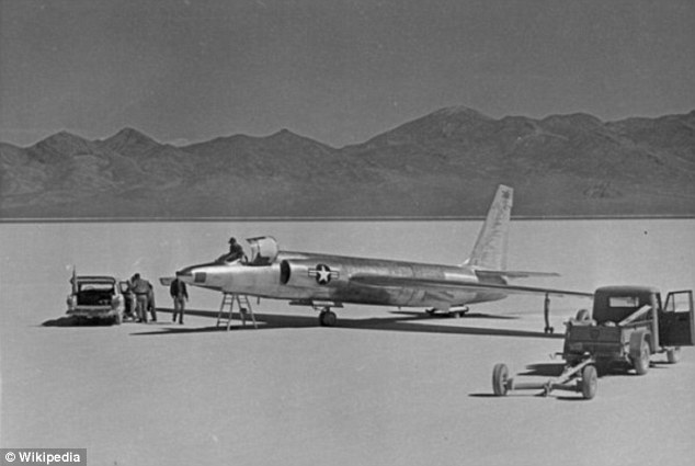 Secretive: In 1955, the U.S. government needed a secret place to test the U-2 spy plane