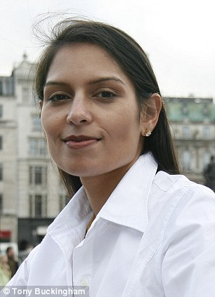 Essex Mp Priti Patel wants more transparency