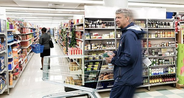 Quick, dash! Arsene Wenger rushed to spend £30m in the final days of the 2011 August transfer window