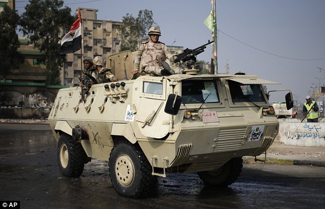 Clashes: Hundreds have been killed since Egypt's president Mohammed Morsi was deposed