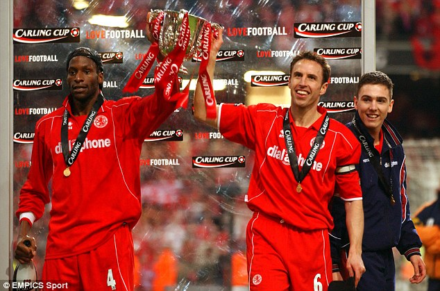 Image result for ugo ehiogu carling cup