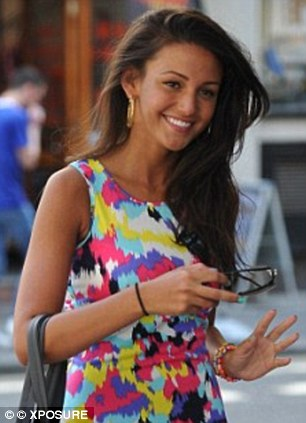 Bare-faced beauty: With her flawless skin and perfect smile, Coronation Street star Michelle Keegan has been named the best bare faced celebrity, even beating off stiff competition from love rival Lucy Mecklenburgh