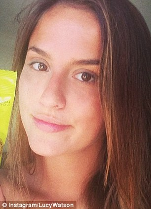 Made in Chelsea star Lucy Watson, who often embraces the make-up free look on her Instagram, came sixth