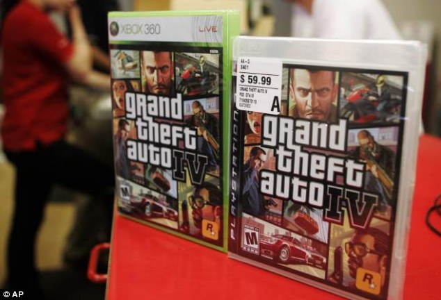 The eight-year-old boy was playing violent video game Grand Theft Auto IV before he shot his caregiver