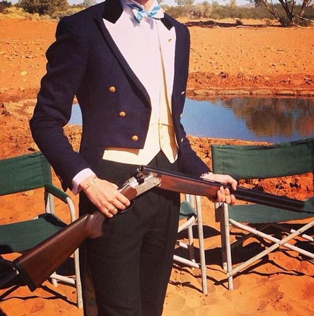 Photo shoot: A Buller with his gun