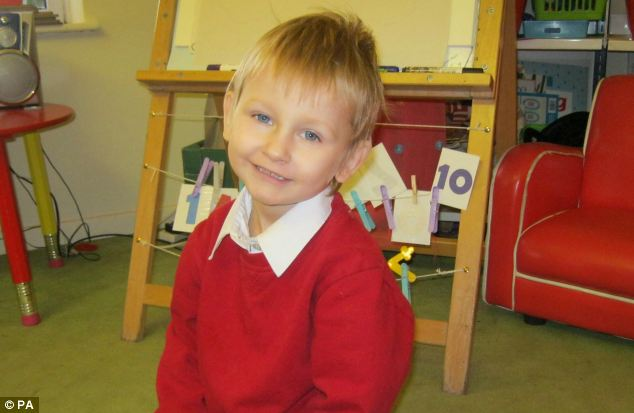 Cautionary tale: Four-year-old Daniel Pelka died from a head injury after being starved and beaten by his mother and her lover