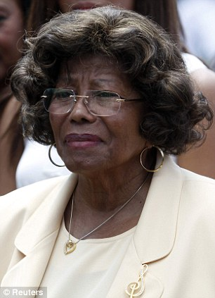 Emotional: Katherine Jackson said Paris was particular traumatised by her son's death in 2009