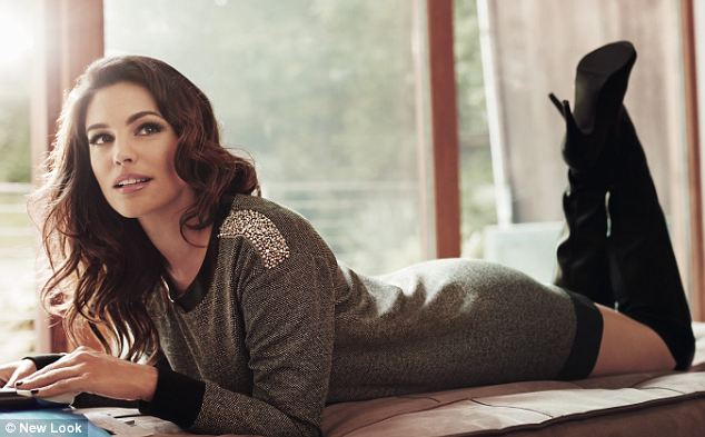Kelly Brook has unveiled her latest collection for High Street brand New Look