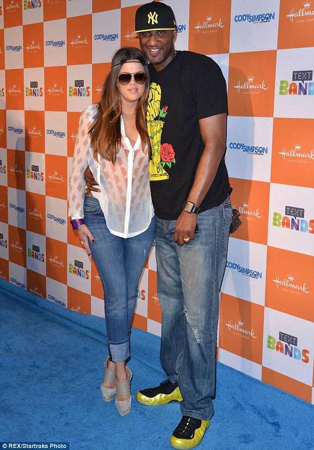 Estranged: Khloe is said to be 'in the dark' about the whereabouts of her husband Lamar Odom