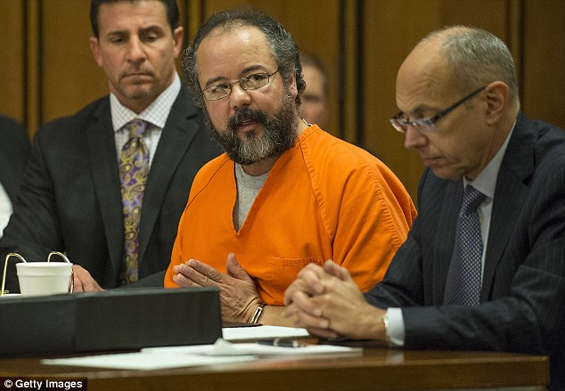 Dead: Ariel Castro hanged himself in his prison cell just one month after being sentenced to serve the rest of his life in prison