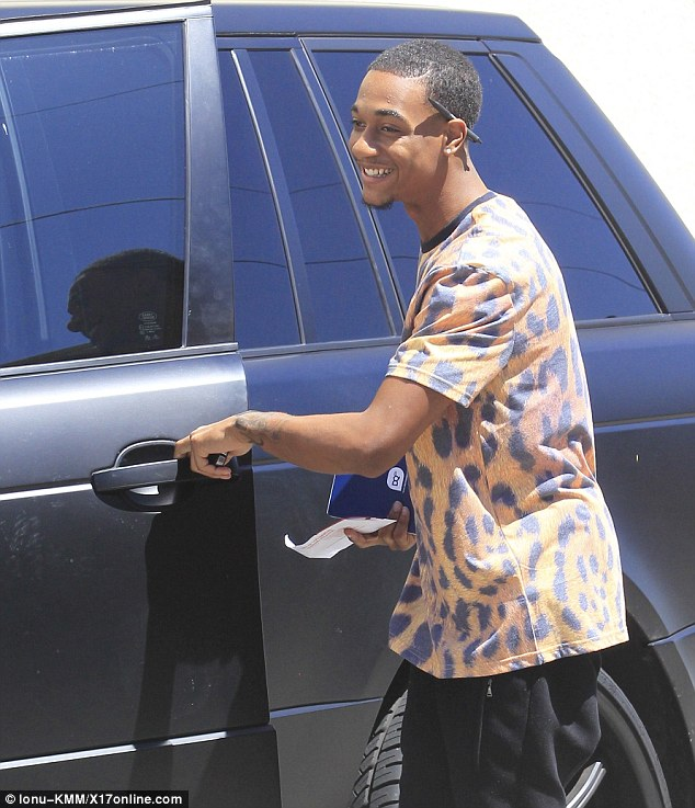 One big joke: The Rapper found it amusing that he had received a fine
