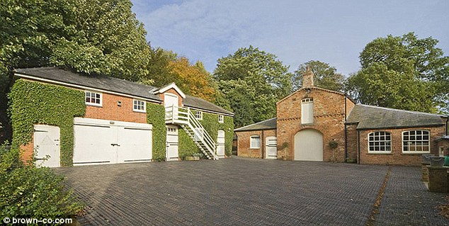 The property also includes stables, a coach-house and three farmyards