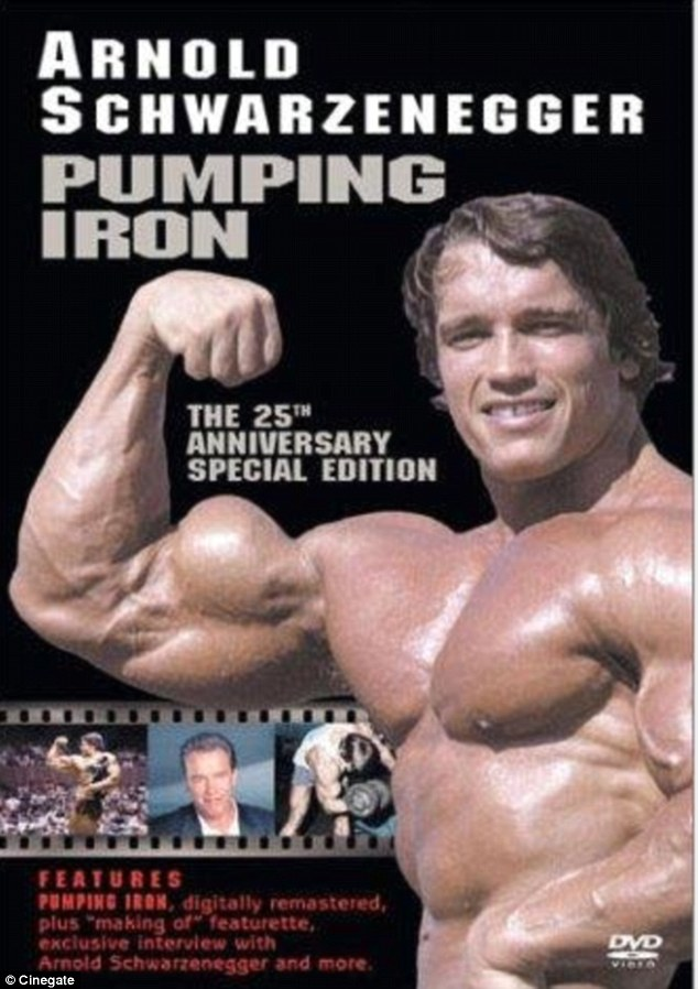 Back to his roots: Arnold starred in 1977's bodybuilding film Pumping Iron and is returning to the genre in Generation Iron to be released on September 20