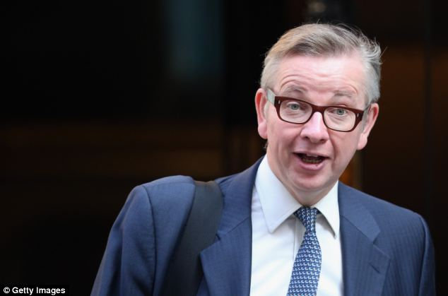Gove was accused of hypocrisy