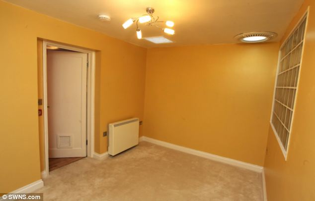 Still the same: Despite the orange walls, modern lights, and carpeting, a veteran recognised the exact lay out