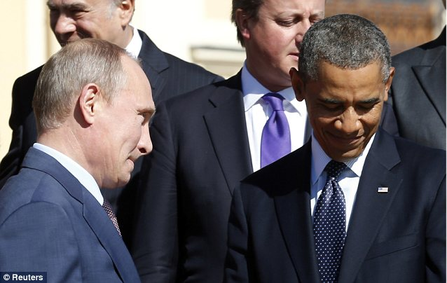 Putin and Obama butted heads over Syria during the G-20 economic summit. Russia's arms contracts with Syria's Bashar al-Assad have made the two nations allies