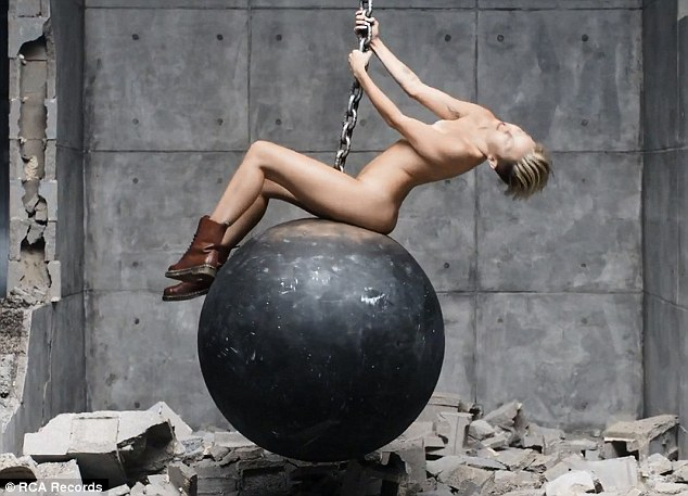 Where next? With each stunt, Miley's becoming slightly less able to shock us, so where next?