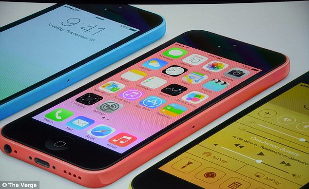 Apple's colourful iPhone 5C is made of plastic, reinforced with steel that works as an antenna. The battery is slightly larger than it was on the iPhone 5 and it has the same 8-megapixel rear camera