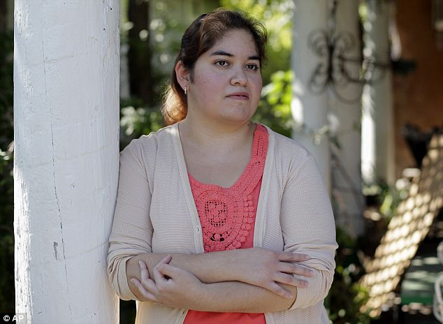 Qualified: 'It's pretty frustrating,' says Annette Guerra, 33, of San Antonio, who has been looking for a full-time job since she finished nursing school more than a year ago