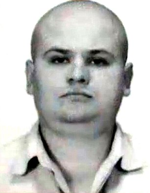 Head of the family Roman Podkopayev who was killed by police in a shootout