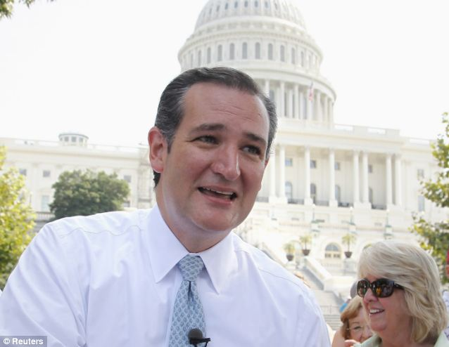 Sen. Ted Cruz has pushed for Obamacare's defunding, and for tougher immigration laws. His speechwriter drew the ire of a political opponent three time zones away on Friday