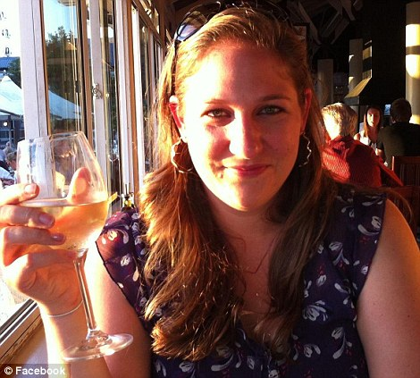 Identified: Canadian diplomat Annemarie Desloges, 29, was shot dead by the gunmen