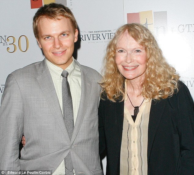 Admission: Mia Farrow has admitted that Frank Sinatra may be the father of her son Ronan, instead of Woody Allen