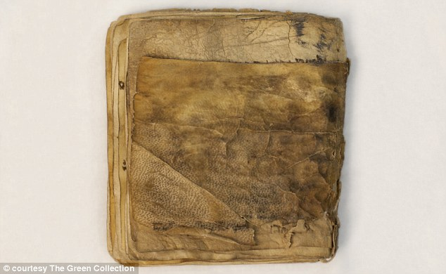 The complete parchment, pictured, is in its original binding.