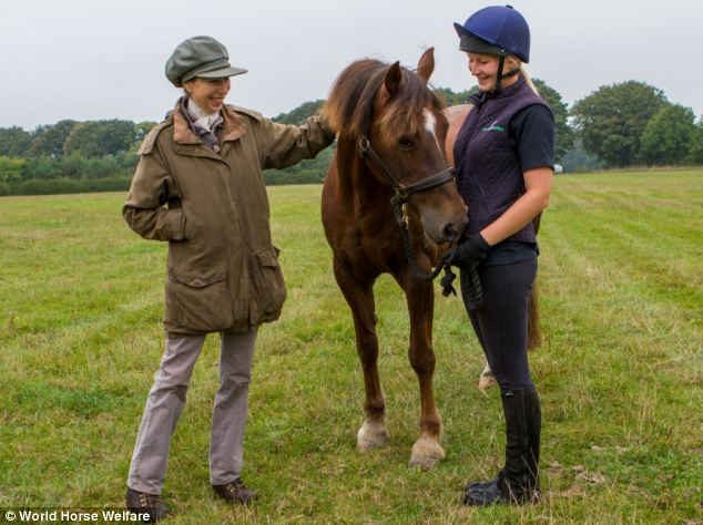 Princess Anne Adopts Rescue Horse From Charity To Live At