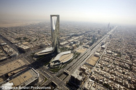The incident took place in Borayda, the capital of al-Qasseem province, north-west of the capital Riyadh (pictured)