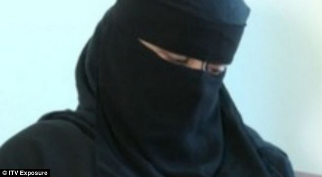 ITV's Exposure undercover reporter posing as the mother of the girl. She visited 56 mosques and 18 agreed