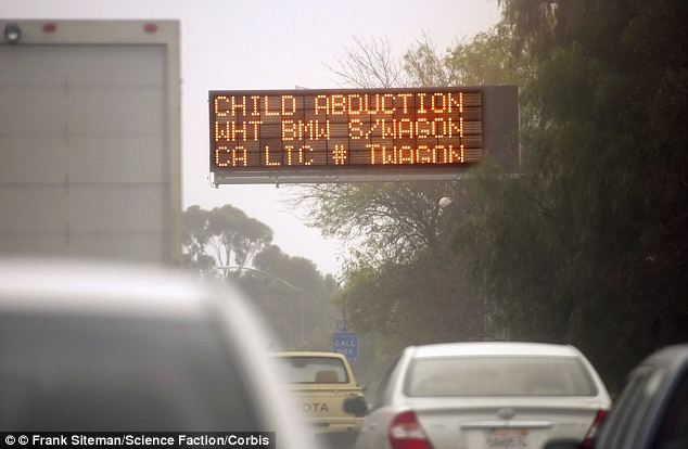 Communication: Amber Alerts will still be sent to freeway signs but that order has to come from a federally funded program