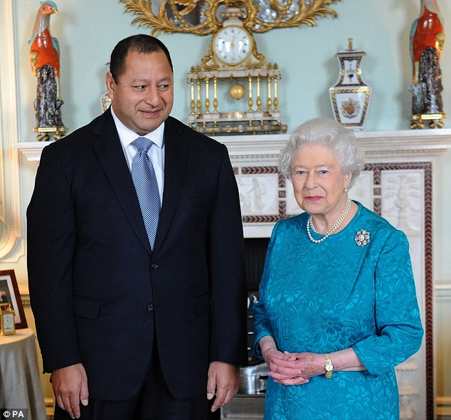 Queen Elizabeth II, shown meeting King Tupou VI of Tonga at Buckingham Palace. The National Audit Office has, for the first time, been allowed to examine all aspects of the Queen's funding as Head of State