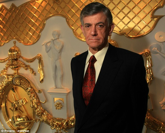 Illegal libretto: Alberto Vilar, pictured in 2007, stole $22million from his clients to fund his lavish life style and pay for donations to his favourite opera houses