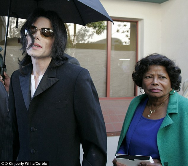 Beat it: Katherine Jackson reportedly couldn't stand Elizabeth Taylor and refused to even sit in chairs where she had been
