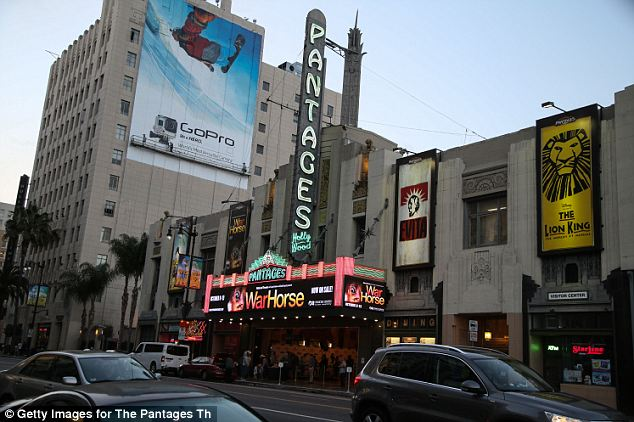 Historic: Hollywood's Pantages building is also at risk of collapse due to non-updated construction says the LA Times and scientists say the next big quake will likely come within the next 30 years