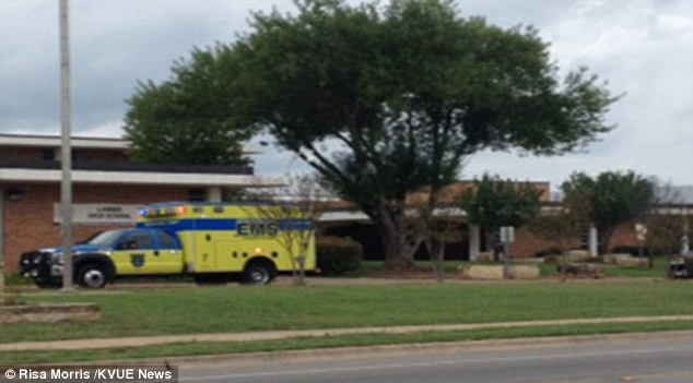 The 17-year-old died from a self-inflicted gunshot wound in a courtyard on the campus of Lanier High School in Austin, Texas