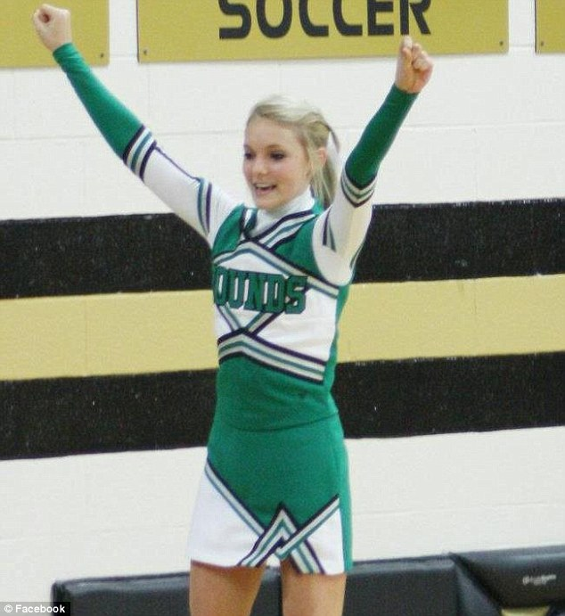 American dream to Maryville nightmare: Daisy had just started to settle into life as a freshman at Maryville High when the alleged attacks took place. She was flattered by Matthew Barnett's attention having caught his eye as a pretty cheerleader