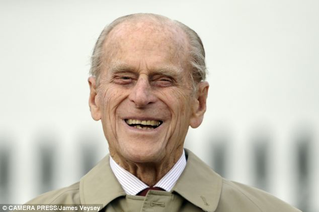 Old sailor: The Duke of Edinburgh attended the renaming ceremony for 'The City of Adelaide' Clipper Ship at The Old Royal Naval College, Greenwich, today